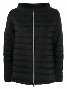 Herno padded fitted jacket - Black