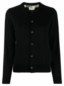 Comme Des Garçons fine knit cardigan - Black