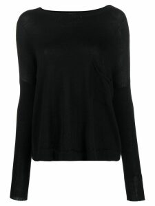 Ma'ry'ya knitted jumper - Black
