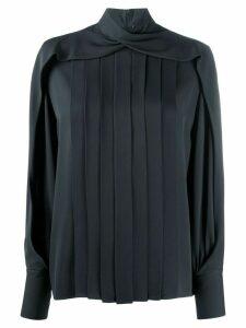 The Row pleated blouse - Grey