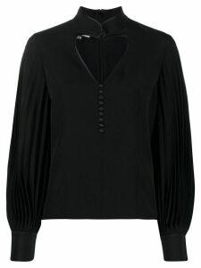 Gucci cut-out heart shirt - Black