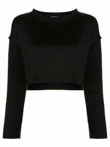 Koral Valor Valo cropped sweatshirt - Black