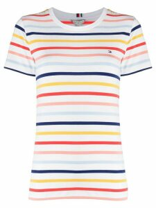 Tommy Hilfiger Breton stripe T-shirt - White