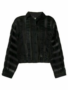 YMC striped blouse - Black