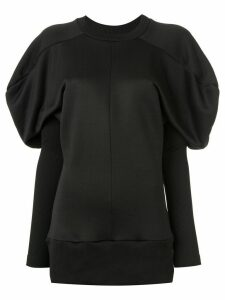 Marques'Almeida puff-sleeve sweatshirt - Black