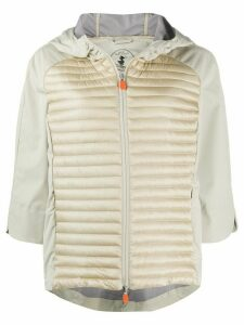 Save The Duck quilted puffer jacket - NEUTRALS