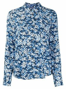 Tommy Hilfiger fitted floral print shirt - Blue