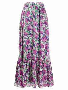 Pinko printed maxi skirt - Green