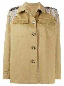 Pinko embellished field jacket - NEUTRALS