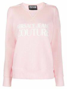 Versace Jeans Couture logo sweatshirt - PINK