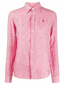 Polo Ralph Lauren striped linen shirt - Red