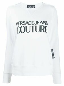 Versace Jeans Couture logo sweatshirt - White