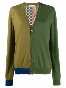 Pierre-Louis Mascia Cardialo colour-block cardigan - Green