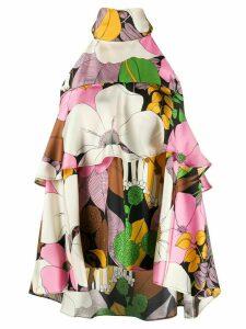 La Doublej Bonbon silk blouse - PINK