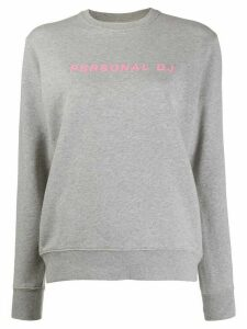 Kirin Personal DJ cotton sweatshirt - Grey