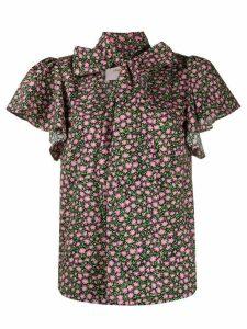 La Doublej Lou Lou floral print shirt - PINK
