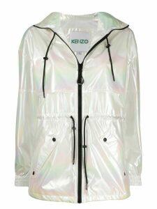 Kenzo shimmer-effect jacket - White