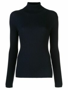Alex Mill knitted roll neck jumper - Blue