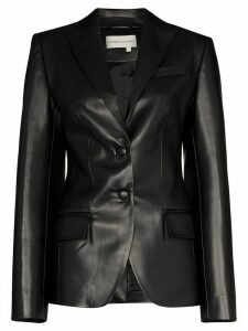 Aleksandre Akhalkatsishvili tailored single-breasted blazer - Black