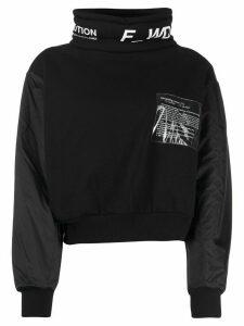 F WD Recycling Explanations sweatshirt - Black