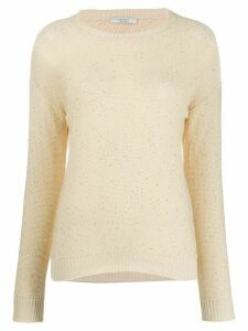 Peserico fine knit jumper - Yellow