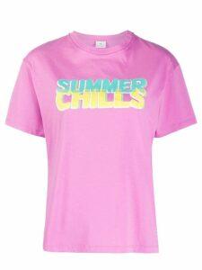 PS Paul Smith slogan print T-shirt - PINK