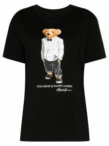 Polo Ralph Lauren Tux Polo Bear print T-shirt - Black