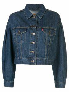 Levi's pleat sleeve trucker jacket - Blue