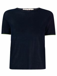 Marni short sleeve knitted top - Blue