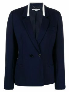 Stella McCartney double-breasted fitted blazer - Blue