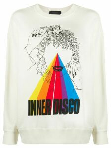 Undercover Inner Disco sweater - White