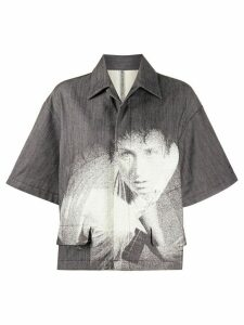 Undercover photo print shirt - Black