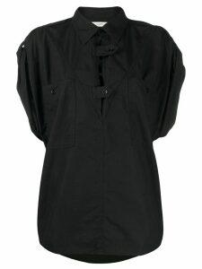 Isabel Marant Étoile Manuela short-sleeved shirt - Black