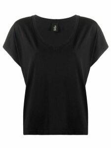 Thom Krom short-sleeve fitted T-shirt - Black
