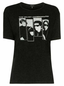 R13 The Velvet Underground print T-shirt - Black