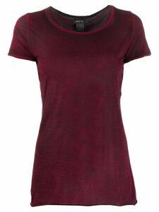 Avant Toi round neck short sleeve T-shirt - Red