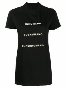 Rick Owens DRKSHDW Inhuman T-shirt - Black