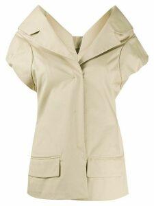 Nina Ricci blazer shirt - NEUTRALS