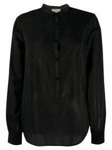 Forte Forte mandarin-collar shirt - Black