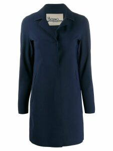 Herno single-breasted coat - Blue