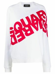 Dsquared2 logo-printed sweatshirt - White