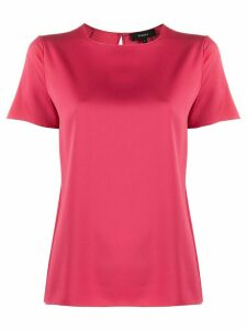 Theory short-sleeved blouse - PINK