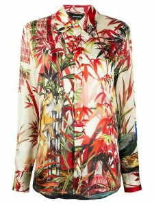 Dsquared2 Jungle print shirt - NEUTRALS