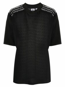 adidas lace-back T-shirt - Black
