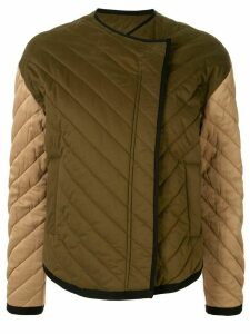 FRAME two-tone quilted jacket - Green