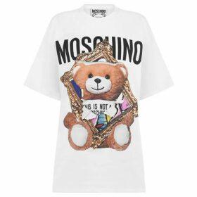 Moschino Frame Teddy Bear T Shirt
