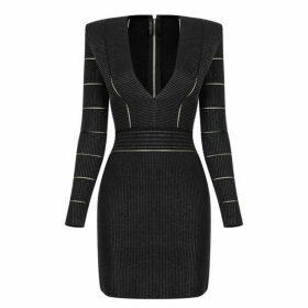 Balmain Knit Mini Dress