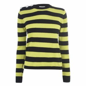 Ganni Stripe Knit Jumper