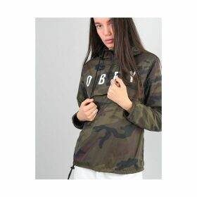 Obey Womens Anyway Anorak Coaches Jacket - Camo (S)