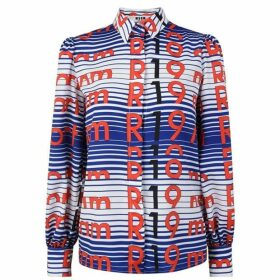 MSGM Stripe Resort Blouse